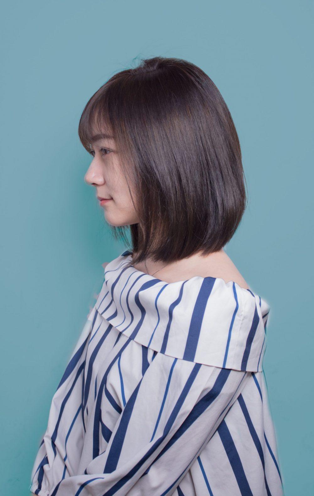 2020布丁頭不明顯的髮色 顯白顯氣質必備!台北中山區染髮推薦必看!